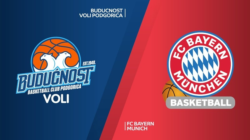 Buducnost VOLI Podgorica - FC Bayern Munich Highlights   Turkish Airlines EuroLeague RS Round 24