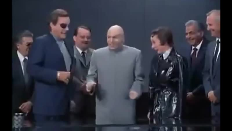 13:Dr Evil-is that you?