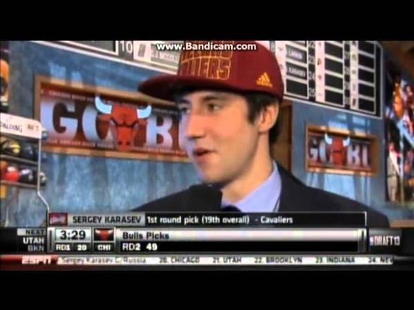 Sergey Karasev 2013 NBA Draft Highlights