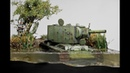 KV 2 Russian Tank Abandoned in Water 1942 Diorama 1 72