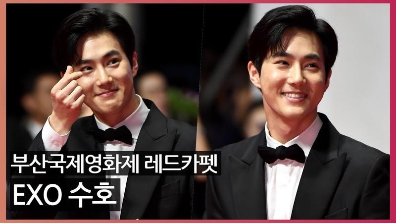 [Oh! 모션]엑소 수호(EXO Suho), '여전한 조각 비주얼' (부산국제영화제)