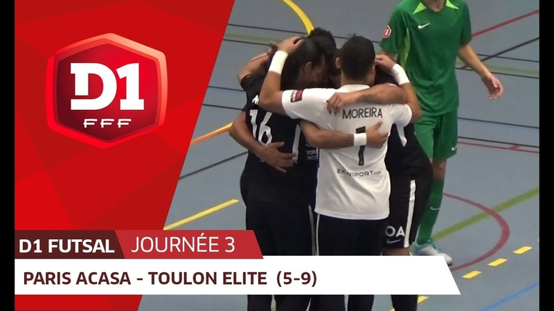 J3 : Paris ACASA - Toulon Elite Futsal