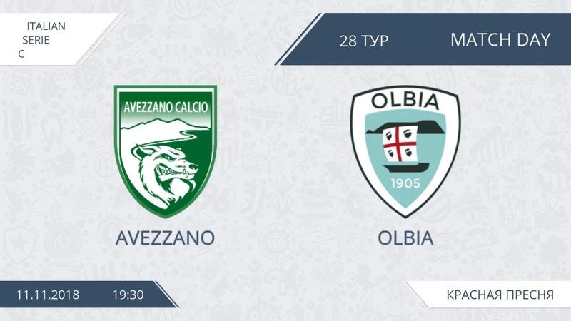 AFL18. Italy. Serie C. Day 28. Avezzano - Olbia