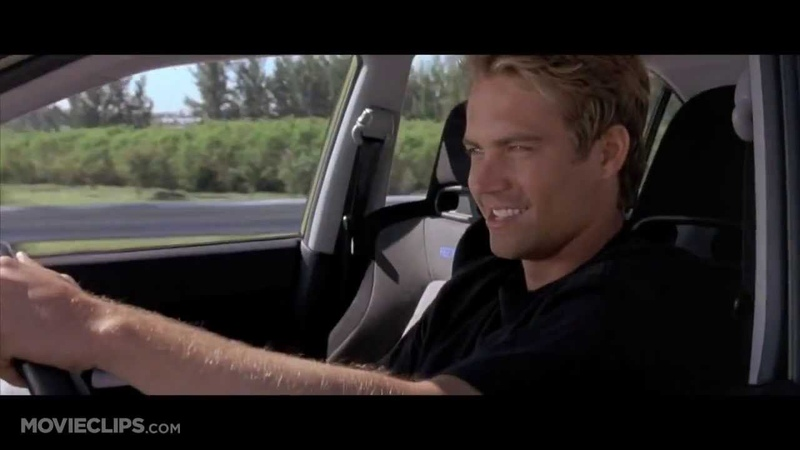 2Fast2Furious Brian O'Connor Driving School
