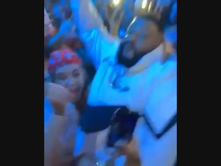 Dj khaled crowd surfing fail