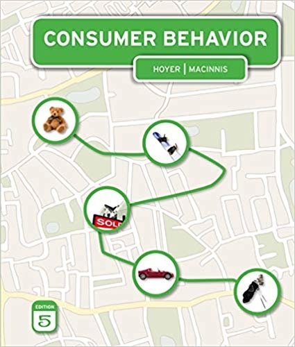 Consumer Behavior by Wayne D. Hoyer