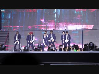 fancam 181220 NCT 127 - Intro, Simon Says & Regular @ KPMA 2018