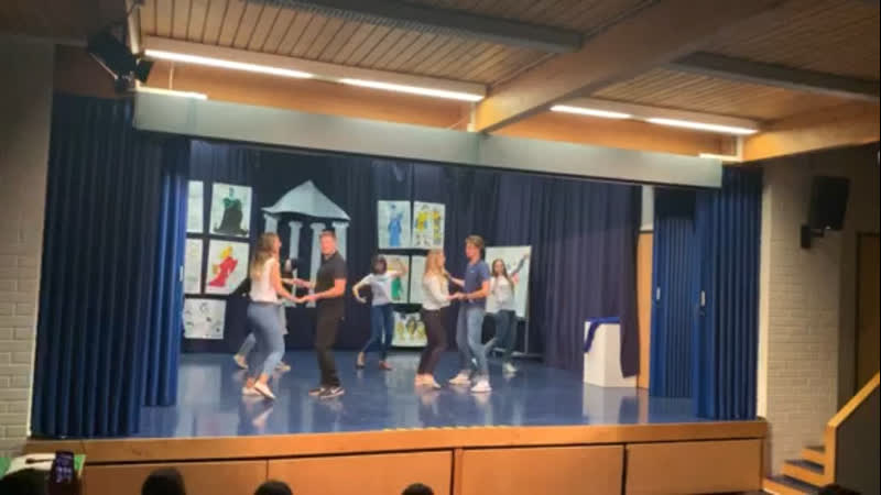 Señorita - танец вожатых