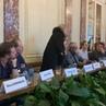 """La Russie en France on Instagram Tournée du Théâtre Vakhtangov à Paris conférence de presse Lioudmila Maksakova"""""""