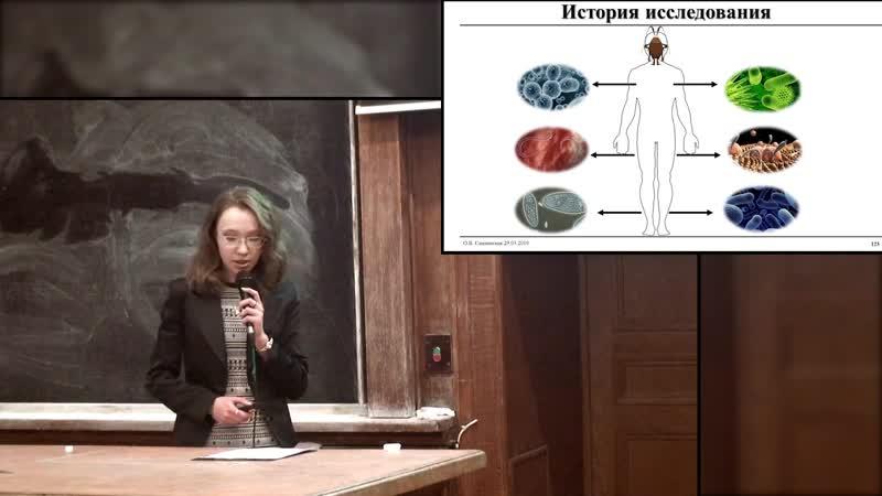 Ольга Слатинская. Тараканы в голове и их роль в передаче нервных импульсов.