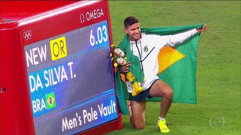 Um dia Dourado Thiago Braz relembra feito histórico nas Olimpíadas do Rio 2016