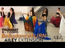 *NEW VEILS BellydanceBURN Class with instructor @JBELLYBURN JANELLE ISSIS AIELY EXTENSION