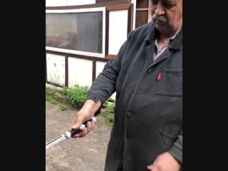 Оригинальное изделие. Складной нож.