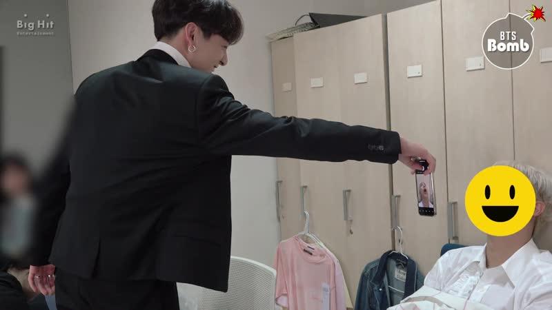 [BANGTAN BOMB] JK taking a photo of members sleepi(1080P_HD)