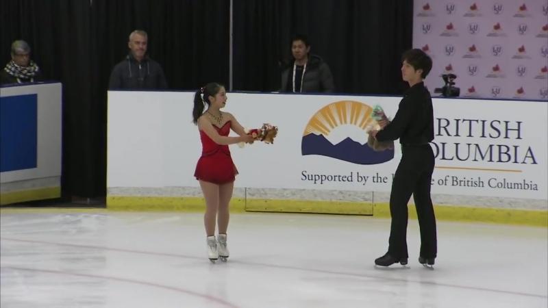 Miura Riku _ Ichihashi Shoya (JPN) _ Pairs Free Skating _ Richmond 2018