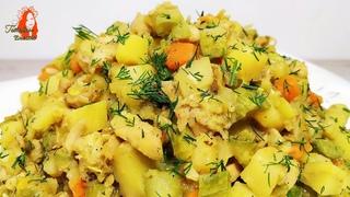 Угощайтесь! Очень Вкусный Обед или Ужин из овощей и мяса!