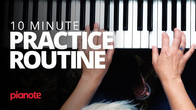 You Arent Too Busy To Practice Piano (10 Minute Practice Routine)