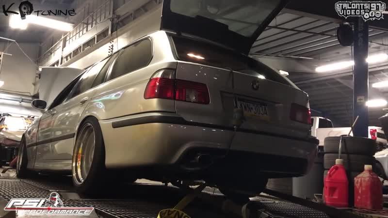 Dyno BMW E39 540i Touring _Turbo charged LS2-Powered/2002.