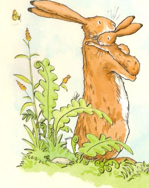 картинка маленький зайчонок улыбнулся маме решили выяснить, что