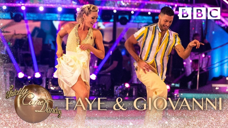 Faye Tozer Giovanni Pernice Jive to 'Reet Petite' by Jackie Wilson BBC Strictly 2018