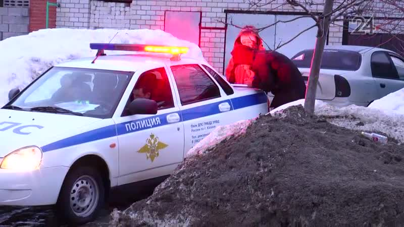 Два автомобиля такси столкнулись ночью на проселочной дороге в поселке Северный