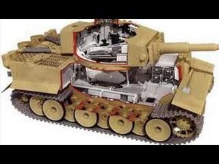 Сравнение танка Тигр и т34