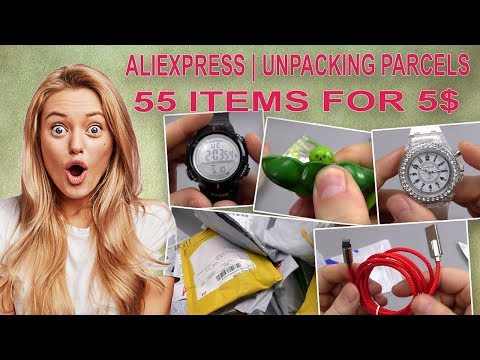 55 most POPULAR PRODUCTS with ALIEXPRESS up to $ 5! ЛУЧШЕЕ С АЛИЭКСПРЕСС!!