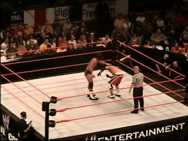 Stevie Richards vs Matt Cappotelli Dark Match