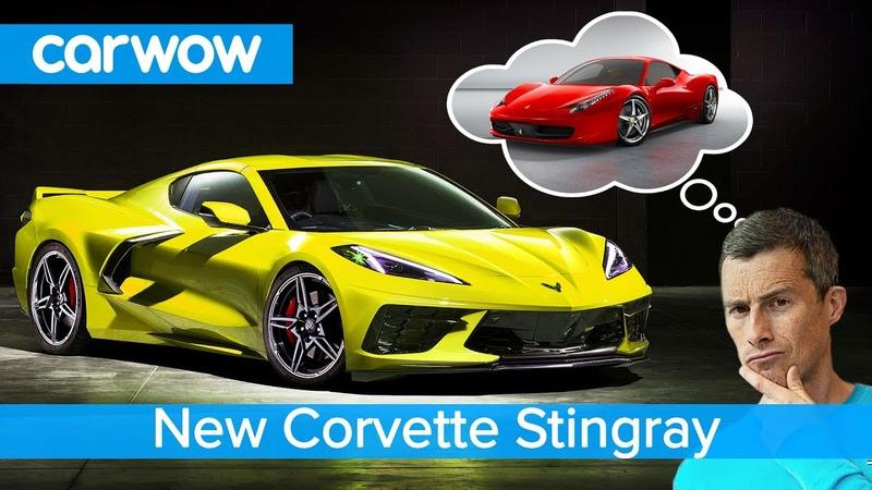 Corvette's Ferrari 458 for a fraction of the price the new mid engined NA V8 Stingray