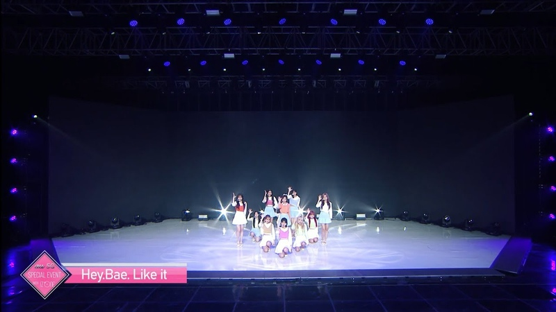 Iz*one 아이즈원 Hey Bae Like it 『au 5G Special Event with IZ*ONE』