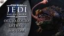 Star Wars Jedi Fallen Order Босс 1 Оггдо Богдо Жаба переросток