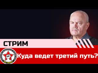 Куда ведет третий путь? Виктор Тюлькин