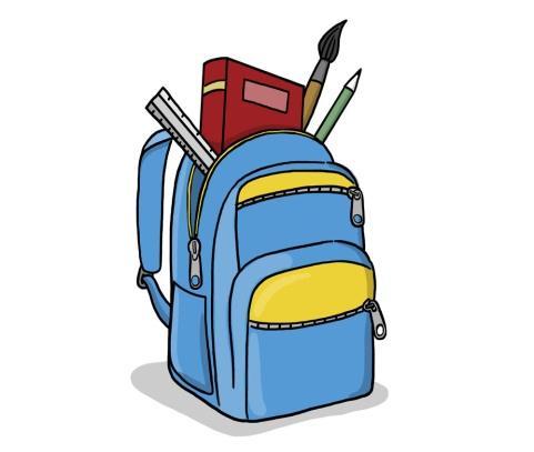 Рисованные рюкзачки картинки для детей