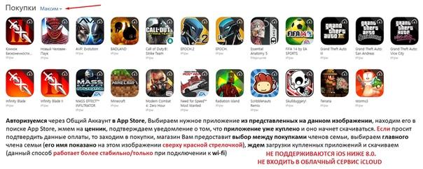 Аккаунт для iOS 8-12!