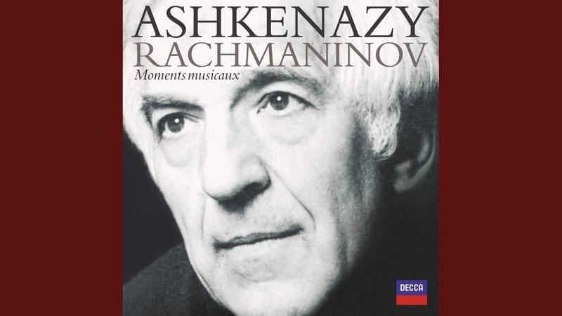 Rachmaninov Morceaux de Fantasie, Op.3 - No.1 Elegie
