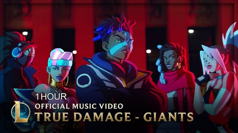 [1 HOUR] True Damage - GIANTS (ft. Becky G, Keke Palmer, SOYEON, DUCKWRTH, Thutmose)