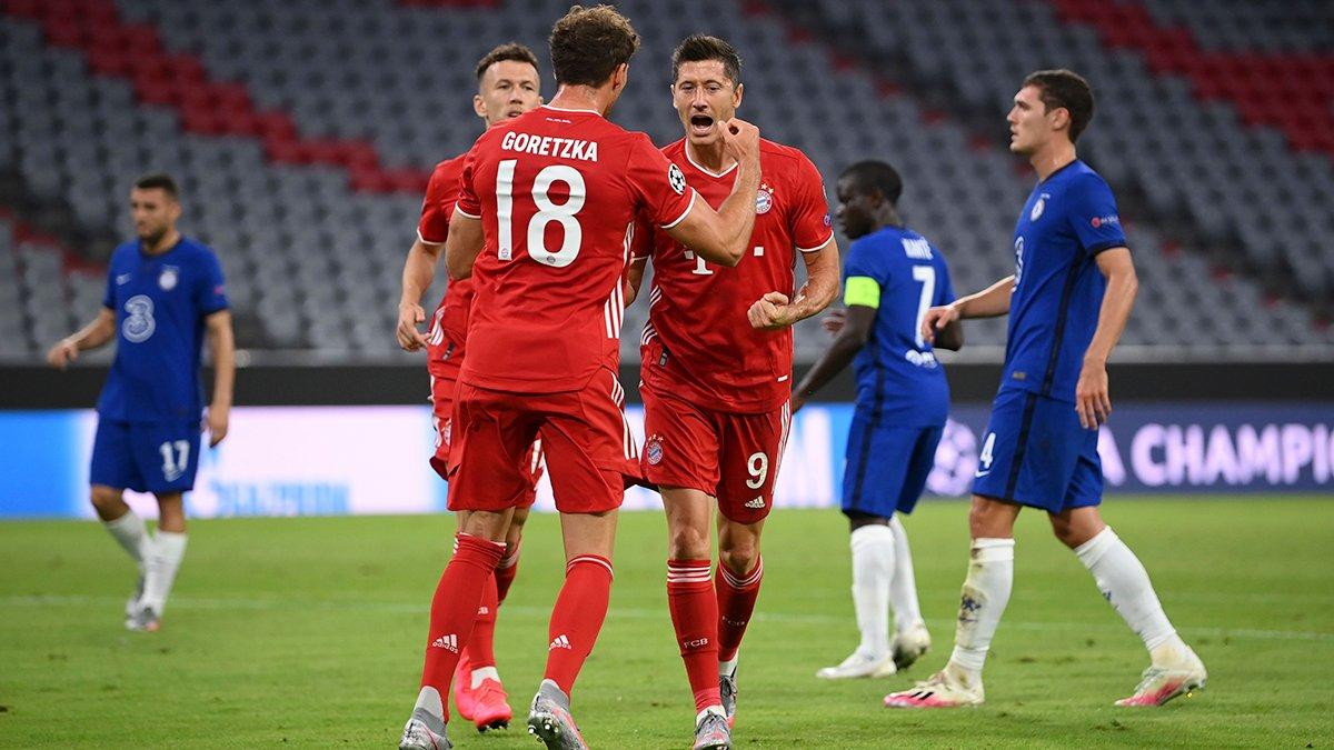 Бавария - Челси, 4:1. 1/8 финала Лиги чемпионо 2019/20
