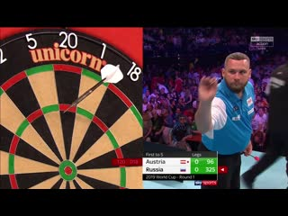 Austria vs Russia (PDC World Cup of Darts 2019 / Round 1)