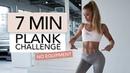 7 MIN PLANK CHALLENGE / No Equipment | Pamela Reif