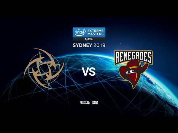 NiP vs Renegades - IEM SYDNEY 2019 - map2 - de_mirage [ceh9 SSW]