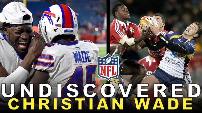 From a Premiership Rugby Star to Making an NFL Roster Christian Wade's Journey in American Football