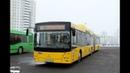 Автобус Минска МАЗ-215, гос.№ АО 2185-7, марш.144с (28.03.2019)