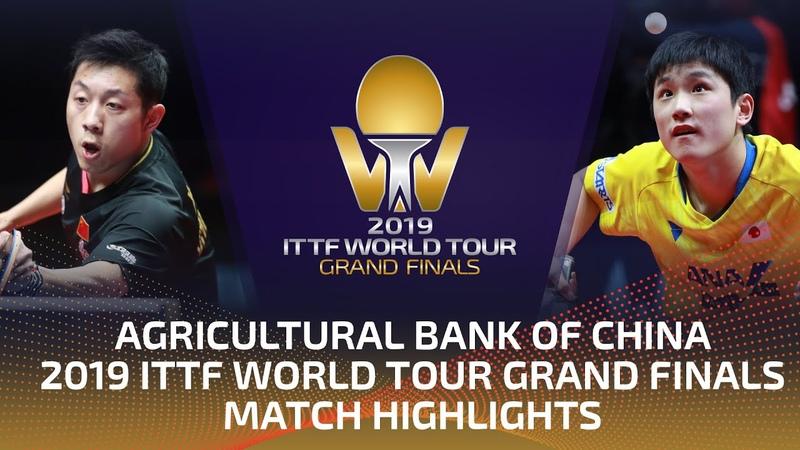 Xu Xin vs Tomokazu Harimoto 2019 ITTF World Tour Grand Finals Highlights 1 4