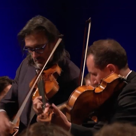 "David's Dearest on Instagram: ""🎶👌 @lkavakos LEONIDAS KAVAKOS and @atamestit ANTOINE TAMESTIT perform Mozart's Sinfonia Concertante together with th..."