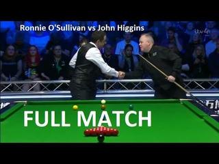 Ronnie O'Sullivan vs John Higgins - (full match) Champion of Champions Snooker 2019 (QF)