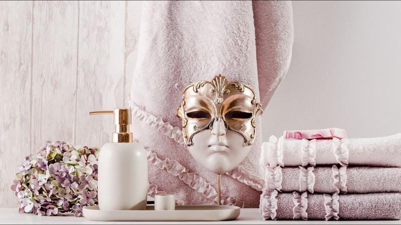 Ванная комната в стиле гламур. Элегантные детали