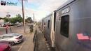 Spoorwegovergang New York 😍4K😍 American Railway crossing