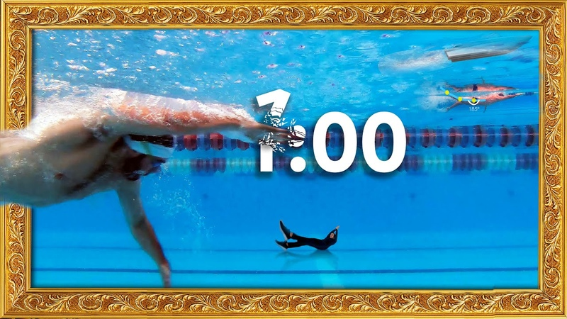 Freestyle swimming technique: Breaking 1 minute in 100 meters Boat freestyle