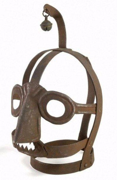 Бельгийская «усмирительная маска для мегер».