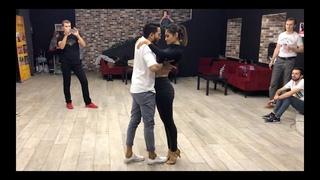 Cornel and Rithika | Bachata Sensual | Master class | Moscow